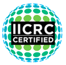 Logo of IICRC Certified